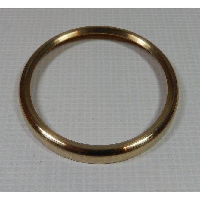 Smiths Instruments Smiths Brass Speedometer Bezel Polished Screw on Plain Type Made in UK