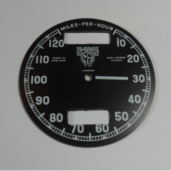 Smiths Instruments Smiths Chronometric Speedometer 10MPH - 120MPH Made in England