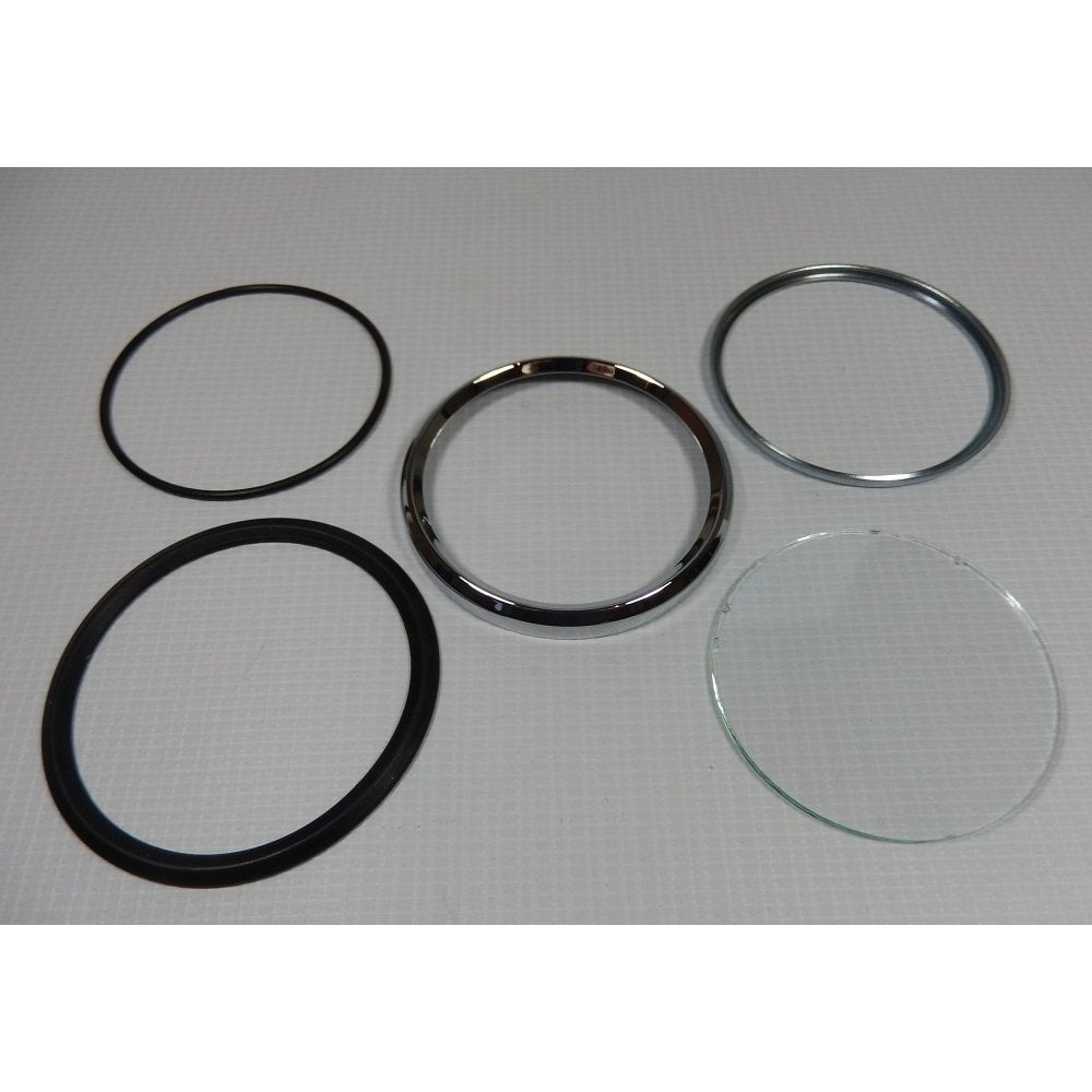 Smiths Speedo Bezel Kit for Classic Motorcycle Includes Glass & Seals  Screw-on
