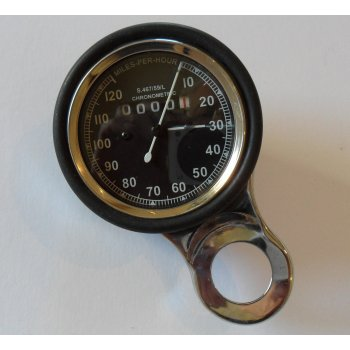 Smiths Instruments Smiths Type Speedometer Compete With Mounting Bracket & Rubber 0-120MPH