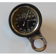 Smiths Type Speedometer Compete With Mounting Bracket & Rubber