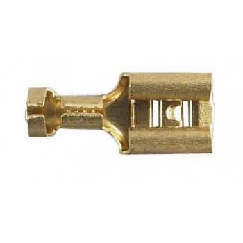 Spade Connector for Classic Motorcycle (Pack of 25)