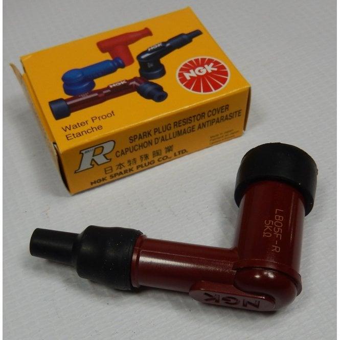 NGK Spark Plug Cap Genuine LB05F Red Body Fits Threaded Plug