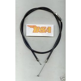 Throttle Cable BSA A50, A65 For Dual Pull Throttle OEM No 68-8679 Length 35""