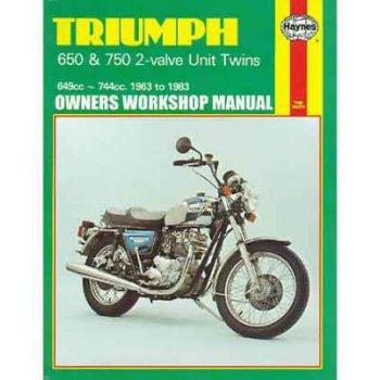 Haynes Triumph 1963-83 Manual