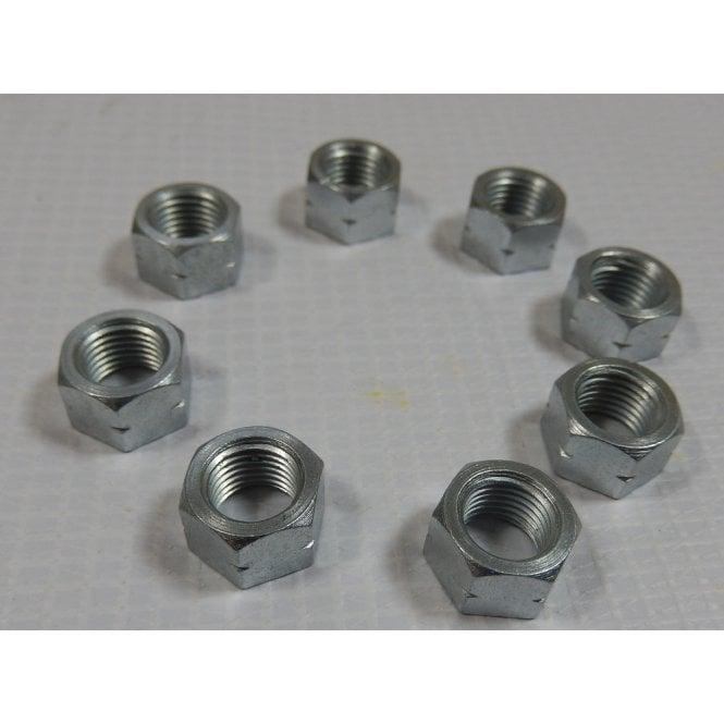 Triumph 350/500CC Cylinder Base Nut Set of 8 26TPI 3/8