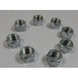 "Triumph 350/500CC Cylinder Base Nut Set of 8 26TPI 3/8"" CEI Fits T100, 5TA & T110"