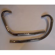 Triumph 3TA / 5TA / T100 Down Pipes Made in UK OEM 70-3992 & 70-3994