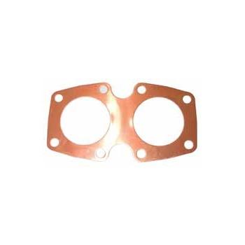 Triumph 3TA, T90 Cylinder Head Gasket Solid Copper OEM: 70-4674