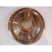"Triumph 9"" Wheel Hub Cover Stainless Steel 1960 -67 Single Leading Shoe OEM No 37-1332"