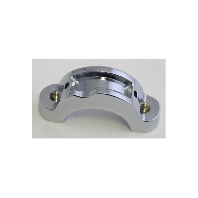 Doherty Triumph Back Clamp /Triumph Threaded chrome For Type 217