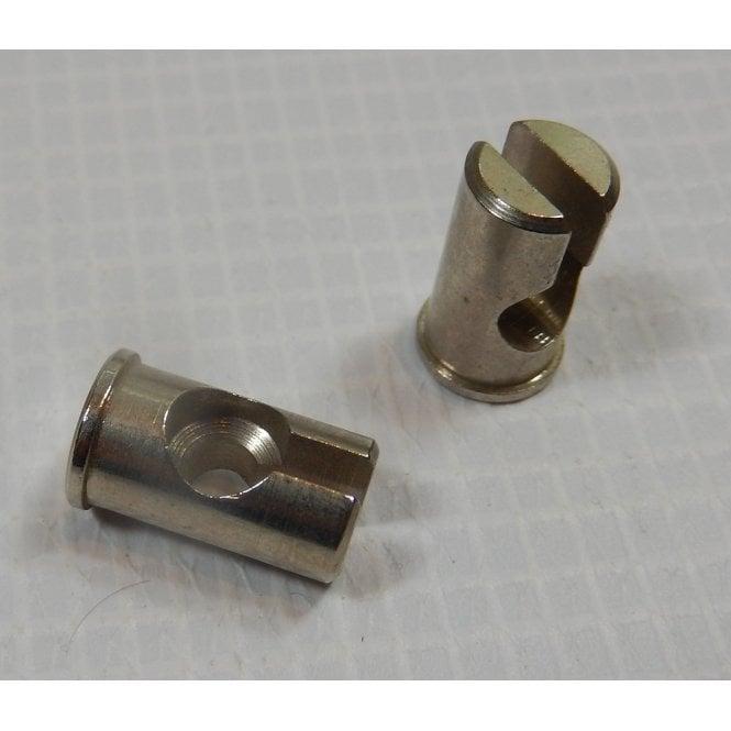 Triumph Bonneville Cable Adaptor Barrels Sold as a Pair OEM No 62-0078