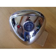 Triumph /BSA / Norton Chrome Headlight Complete Genuine Lucas