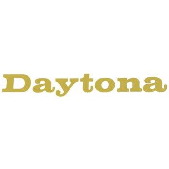Triumph Daytona Classic Motorcycle Transfer Gold Lettering