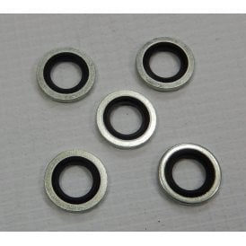 Dowty Petrol Tap Sealing Washers for Classic Motorcycle Pack of 5 1/8th BSP