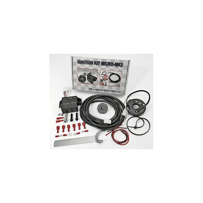 Triumph ELECTRONIC IGNITION SYSTEM - MICRO MK2 6 & 12 VOLT SYSTEM