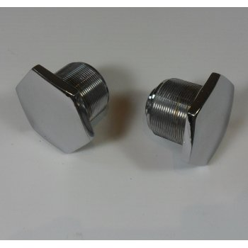 Triumph Fork Stanchion Top Nuts for Classic Motorcycle (Sold as a Pair)