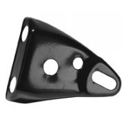 Triumph Headlight Bracket Right hand Black Powder coated