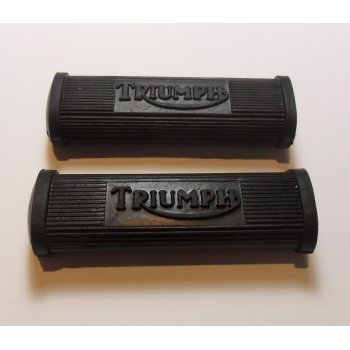 Triumph Pillion Footrest Rubbers for Classic Motorcycle