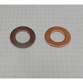 Triumph Rocker Oiler Copper Washers (Pair) OEM No 70-1335 UK Made