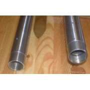 Triumph T100, 5TA, T120, TR6 Fork Stanchions Sold as a Pair OEM No 97-1889 Hard Chrome