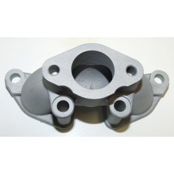 Triumph T100 Single Carb Manifold Cast For Standard 26mm Choke