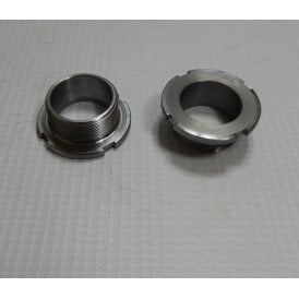 Triumph T120 Front Fork Bearing Nut OEM No 97-2091 Made in UK Sold as a Pair