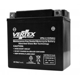 Triumph T120, T150, 12v Gel Battery VP8-3 Sealed Replaces Maintenance Free