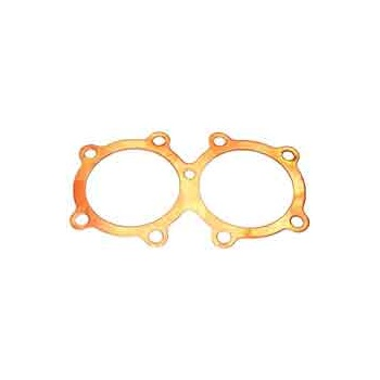 Triumph T120 TR6 Cylinder Head Gasket Solid Copper