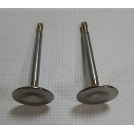 Triumph T120 / TR6 Exhaust Valve Alpha No V24 (Sold as a Pair) Genuine Hepolite