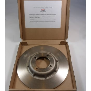 Triumph T140 Front / Rear Brake Disc 4 Hole Hard Chrome Made in UK