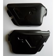 Triumph T140 Jubilee Side Covers Finished in Black Made in UK