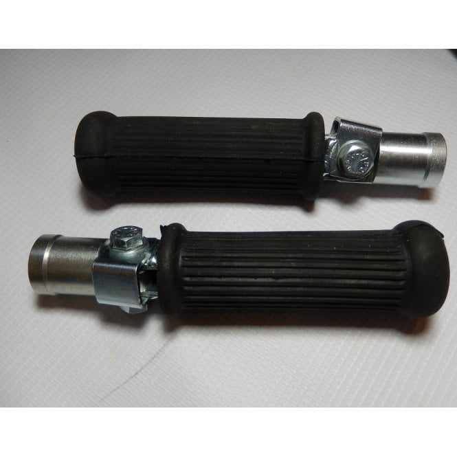 Triumph T140 Pillion Footrest Assembly Complete Sold as A Pair UK Made OEM No 83-7600
