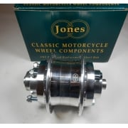 Triumph T140 Rear Hub Complete Polished Billet Alloy Genuine Jones Hub