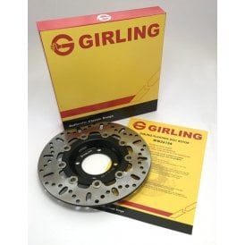 Triumph T140, T150, T160 Vented Brake Disc 4 Hole Genuine Girling