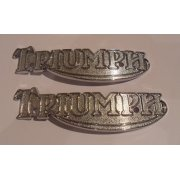 Triumph T140 T160 Tank Badges (Pair)