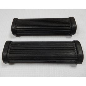 Triumph T20 Cub Rider / Pillion Footrest Rubbers Sold as a Pair OEM No 82-1695
