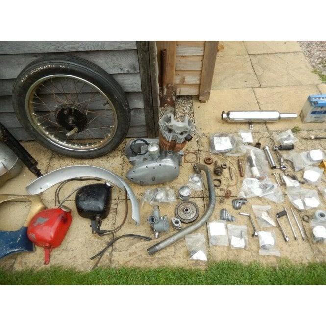 Triumph T20 Tiger Cub 1961 For Restoration Matching Frame & Engine With V5