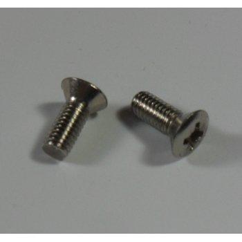 Triumph Tank Badge Screws Short 8mm Thread Sold In Pairs OEM 82-4129