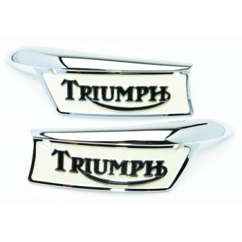 Triumph Tank Badges Enamelled