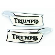Triumph Tank Badges Enamelled