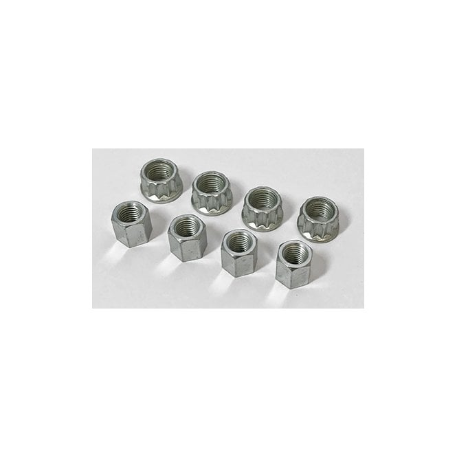 Triumph TR7 / T140 Cylinder Base Nut Set of 8 UNF Nuts