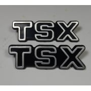 Triumph TSX Side Panel Styling Badges Sold as a Pair
