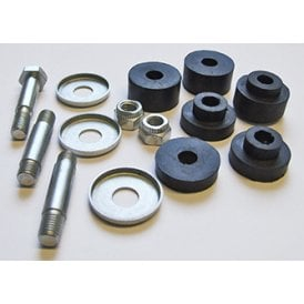 Triumph Unit 500cc & 650cc Tank Mounting Bolt / Stud Kit UNF 1969-74 With Rubbers