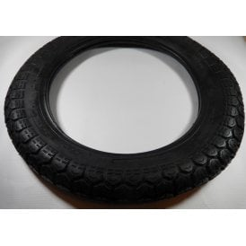"Tubed Classic Style Tyre 325-17"" ISO-9001 Made By Cougar"
