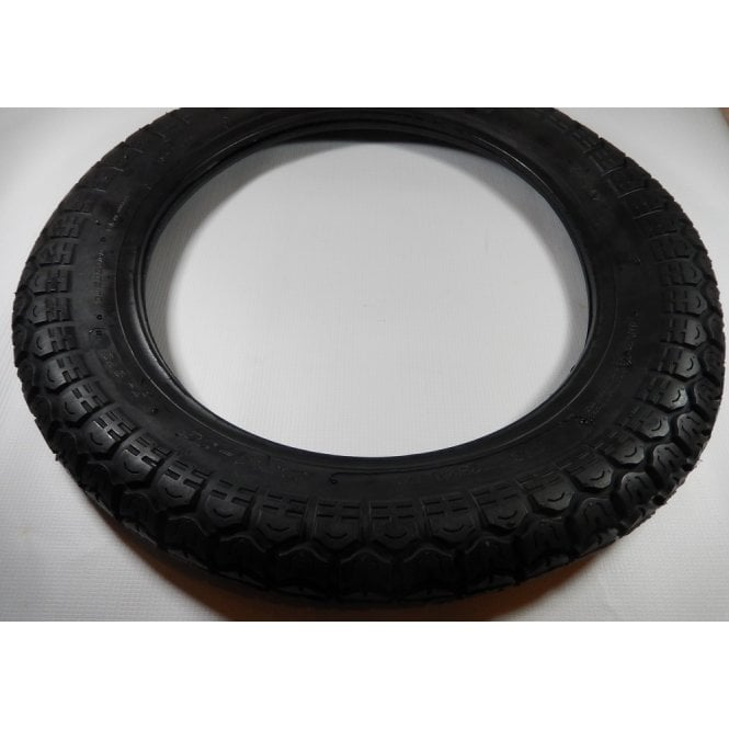 """Tubed Classic Style Tyre 350-16"""" ISO-9001 Made By Cougar"""