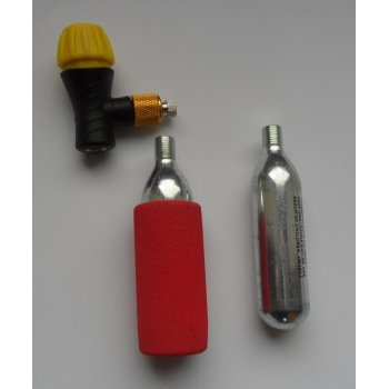 Tyre Inflator CO2 Canister Set & Adaptor