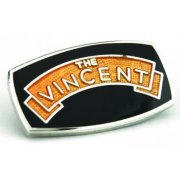 Vincent Pin Badge for Classic Motorcycle