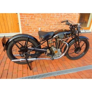 Vintage Motorcycle Sunbeam Model 10 1931 Immaculate & Full Running Order Rare
