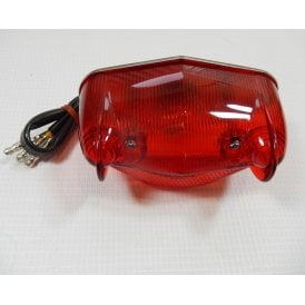 Wipac Type Rear Lamp Fits BSA Bantam Pre-wired Twin Element 6V Bulb